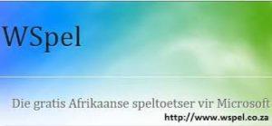 WSPel afrikaanse speltoetser